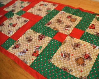 Ginger Bread Cookie Table Runner