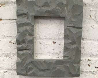 Concrete 5x7 picture frame