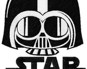 Darth Vader Chibi 2 embroidery design
