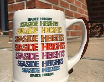 Seaside Heights Vintage Stoneware Mug