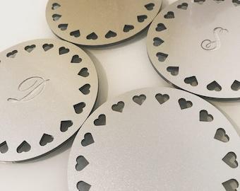 Set of Personalised Coasters