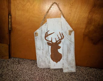Buck Mount Pallet Sign