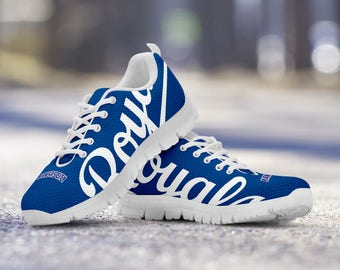 Kansas City Royals Baseball Fan Custom Running White Shoes/Sneakers/Trainers - Ladies + Mens Sizes
