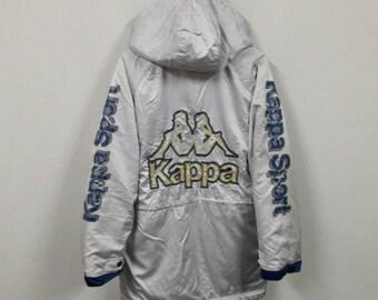 Vintage Kappa Embroidery Big Logo Long Jacket