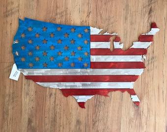 Aluminum American Flag United States