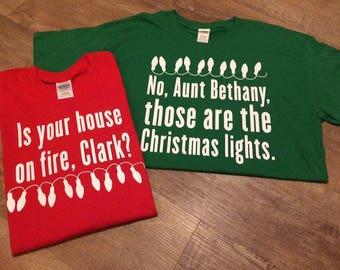 Christmas Vacation t-shirts