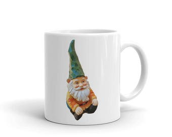 Garden Gnome Office Coffee Mug Cup Gift Idea Stocking Stuffer
