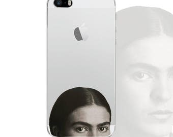 frida kahlo Iphone clear case Iphone 7 plus case Iphone 6 clear case Iphone 6s case IPhone case Samsung Galaxy S7 S5 S6 transparent case