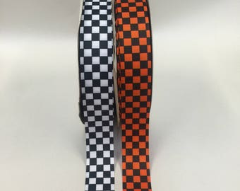 "1.5"" x 10 yards Grosgrain-Checked"