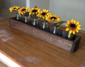 Rustic Wooden Planter Box