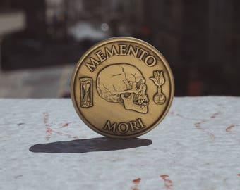 Memento Mori Medallion