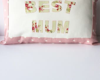 Mum cushion  . Mother's Day gift . Name cushion . Decorative cushion .