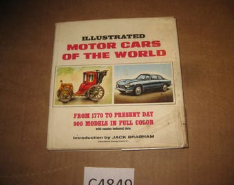 Illustrated Motor Cars of the World by Piet Olyslager     [c4849o]