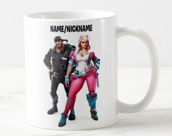 Personalised Fortnite Mug - Fortnite Mug - Constructor Ninja Outlander Soldier - Custom Mug - Funny Mug - Gift Mug - Gift For Him - Birthday