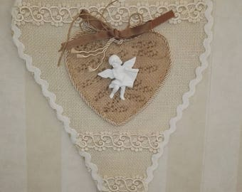 Heartshaped décor-Heart shaped decoration