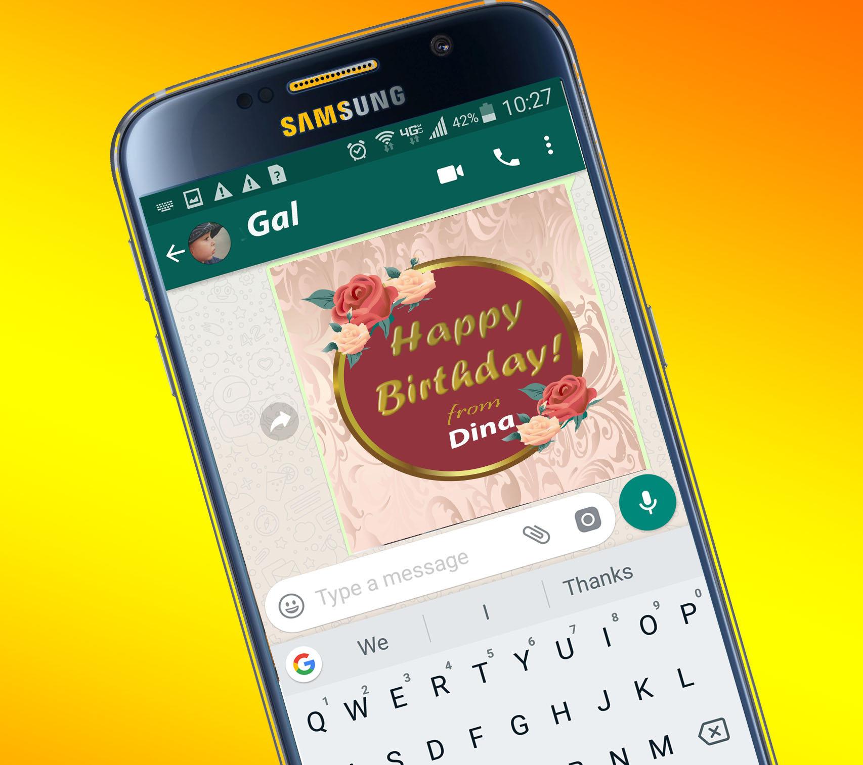 For Iphone For Smartphone Iphone Smartphone Birthday Digital Card