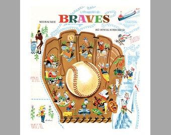 Milwaukee Braves Art Print