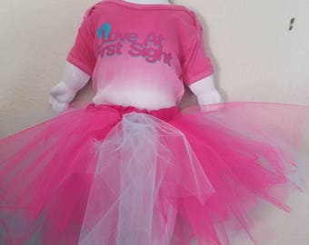 Baby girls tutu outfit