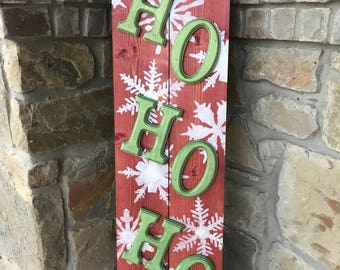 Santa Welcome Sign