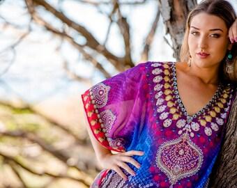 Banjara Kaftan / short dress, resort wear