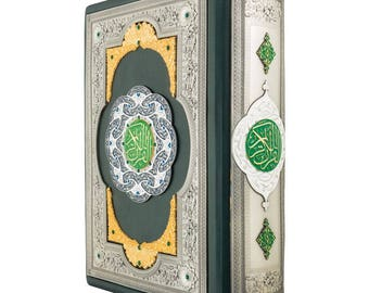 "Exlusive gift book ""Koran"" (Arabic andRussian  language)"
