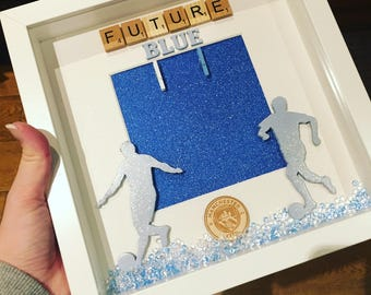 Manchester City picture frame
