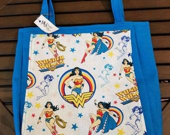 Wonderwoman Large Tote Bag