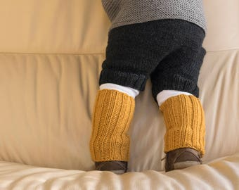Babies leg warmers Childrens leg warmers Toddlers leg warmers knitted leg warmers merino wool leg warmers warm soft boot socks leg wear