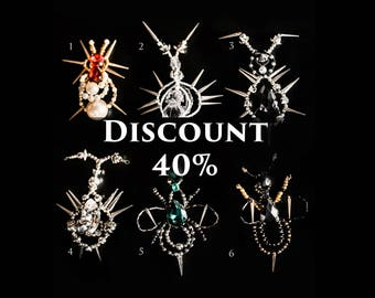Exclusive Brooach Beetle with crystals