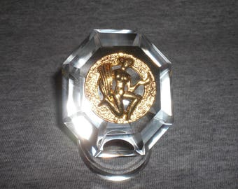 Virgo - miniature collectible crystal figurine