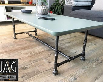 Industrial coffee table / dining table