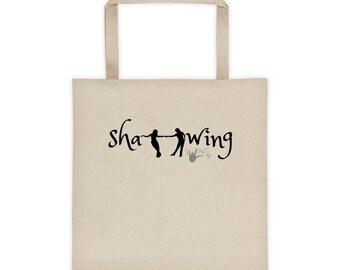 Sha-wing Swing Dance Shoe Bag   Swing Swag Tote   Swing Swag Dancer Gifts