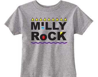Milly Rock Toddler T-shirt (Heather)