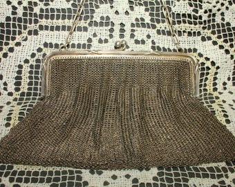Silver evening handbag first 900