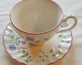 Johnson Brothers England Summer Chintz Cup & Saucer Set