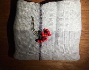 Hand woven, designers shawl/scarf