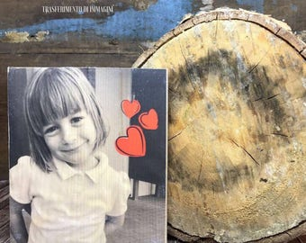 Transferring pictures on wood