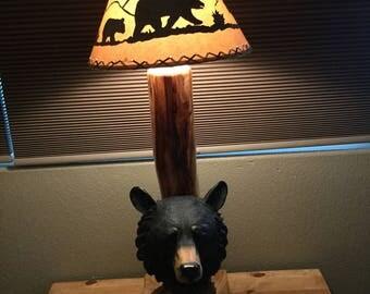 Black Bear Lamp