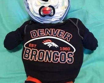 Boy Broncos Teddy Bear