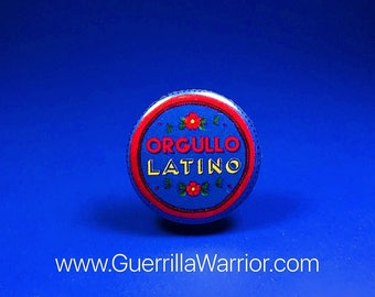 Orgullo Latino (1.25 inch pin-back button)