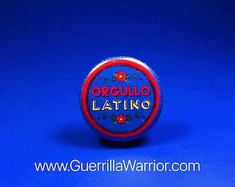 Orgullo Latino (1.25 inch pin-back button)