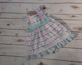 Unicorn Pinafore Dress