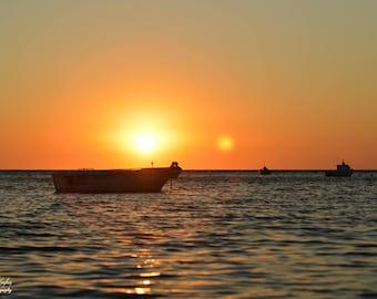 Sunset on Akbuk