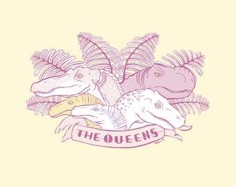 Digital Print - Jurassic Park - The Queens