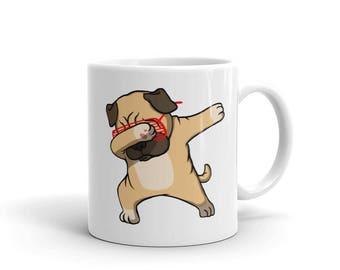Pug Dabbing Cute Dab Dance Funny Mug