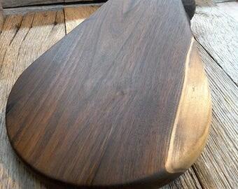Micro-milled Black Walnut Charcuterie Board