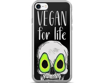 vegan for life [7/7plus] black