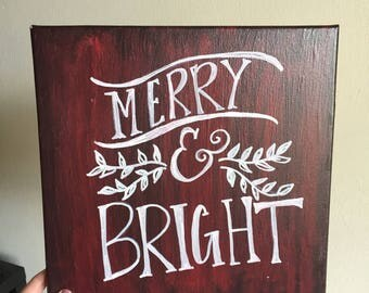 Merry & Bright.