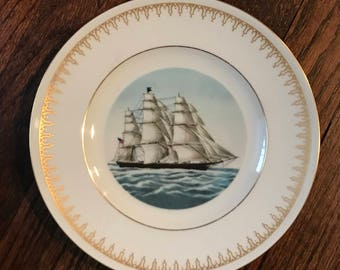 Currier and ives royal danish plate collection