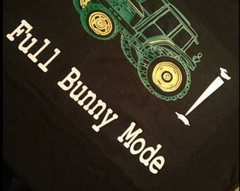 Full bunny mode, John Deere, tractor